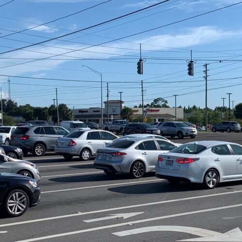 Dangerous intersection in clearwater